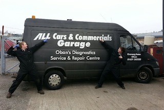 All Cars and Commercials, Oban Garage and Diagnostic Specialist.
